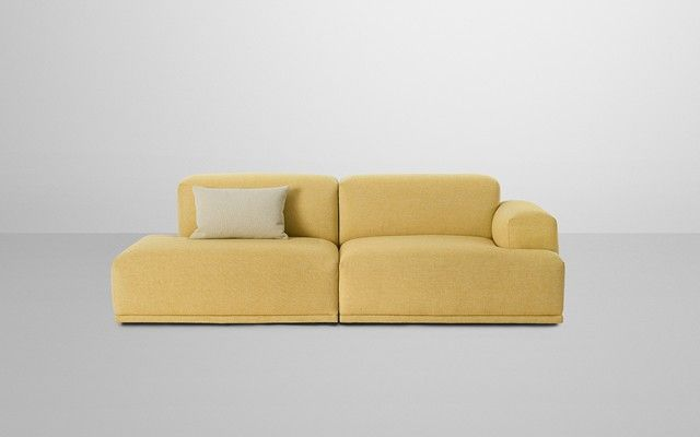 Amazing Muuto Connect 2 Seater Sofa Single Armrest Trending - Minimalist 2 seater sofa Top Search
