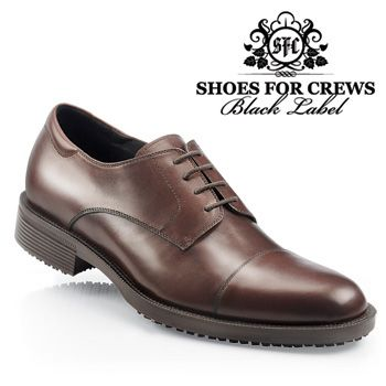 89ecba8841b Click Image Above To Purchase  Shoes For Crews - Senator - Men s   Brown  Skid Resistant Dress Shoes