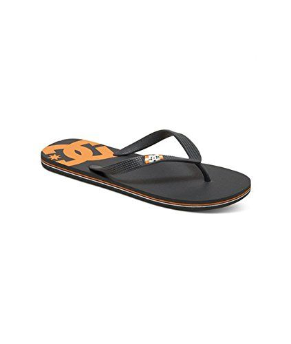 9def0f1fe72ae Introducing DC Mens Spray Flip Flop Sandals Grey 9 D. Great Product and  follow us to get more updates!