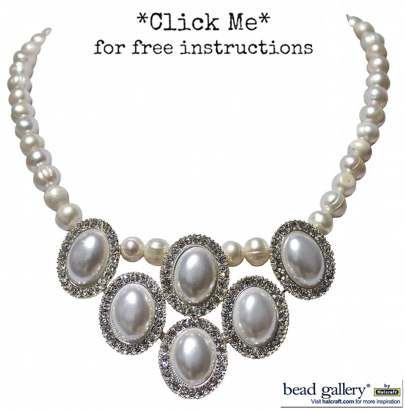 DIY Pearls of wisdom necklace by @dyezbakmoore using #beadgallery ...