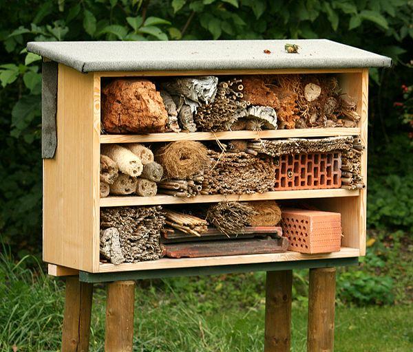 Magazin Gartenzeitung Com Images Meinebilder Tiere Insektenhotel2
