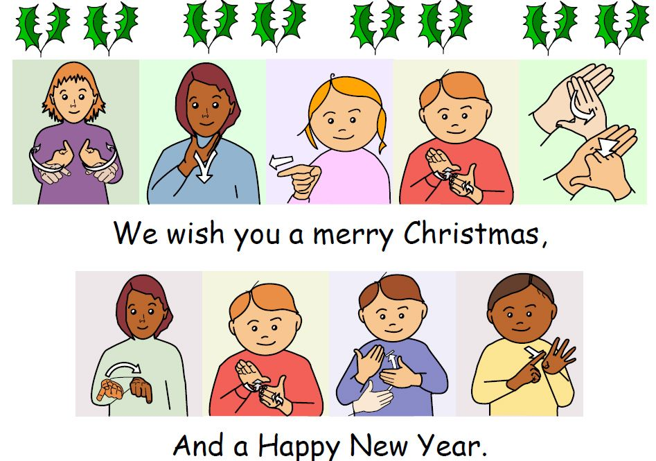 We Wish You A Merry Christmas Sign Language Songs Baby Sign Language Sign Language Lessons
