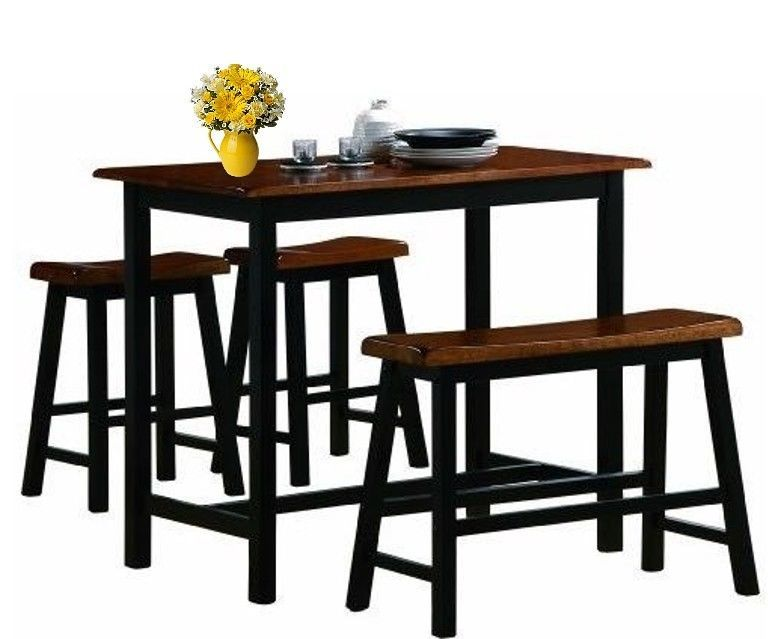 Dining Sets Counter Height Kitchen Table Set Stools and Bench Seat