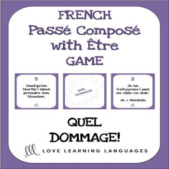 dommage french