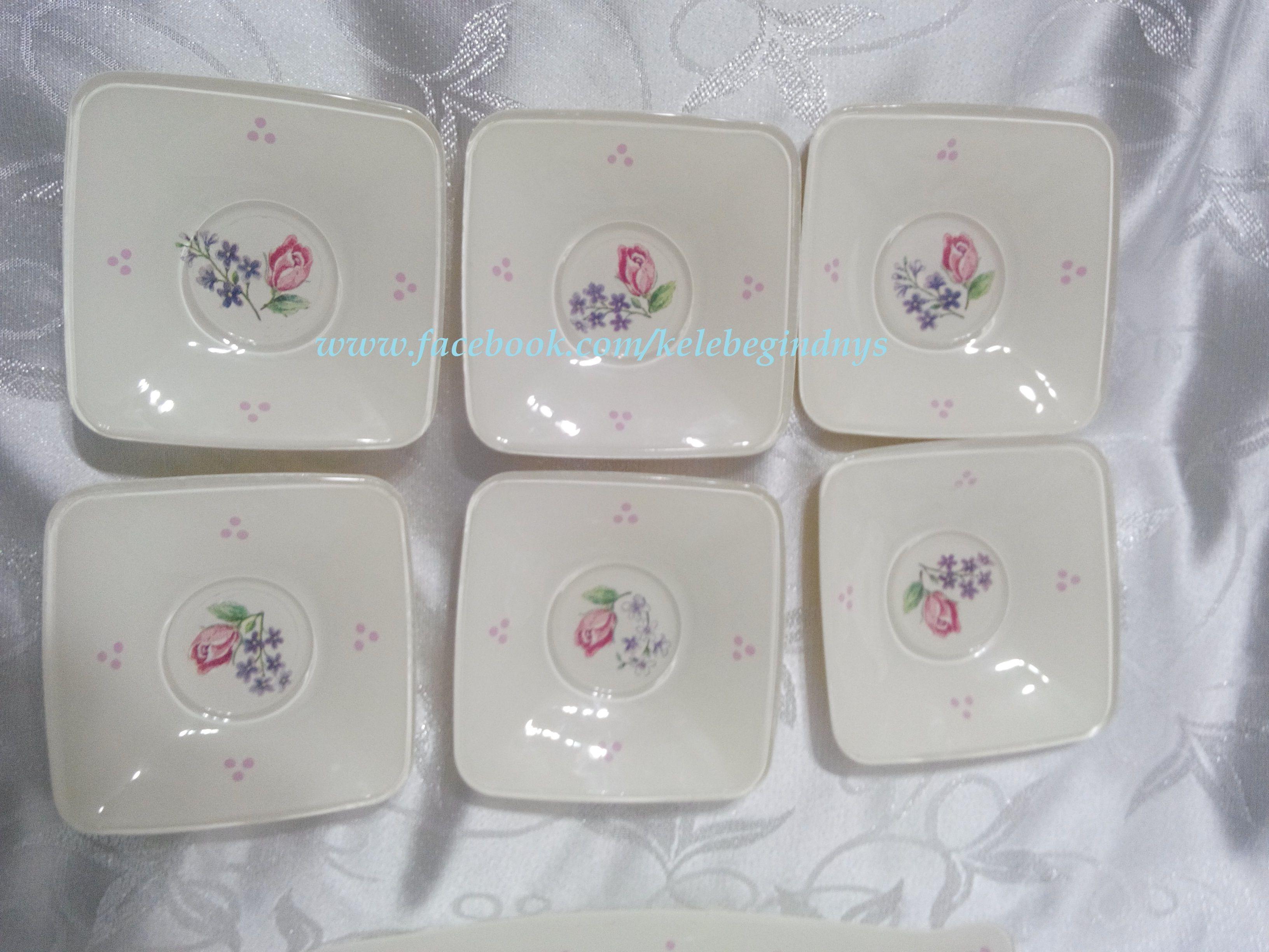 Gül Desenli Çay Tabağı 25TL satın almak için http://kelebek-design.blogspot.com.tr/  ve https://www.facebook.com/kelebegindnys