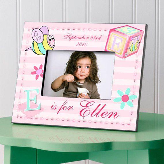 Personalized Childrens Frames Childrens Picture Frames Newborn