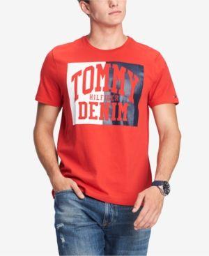 caaac41e2de6 Tommy Hilfiger Men s Plains Graphic T-Shirt