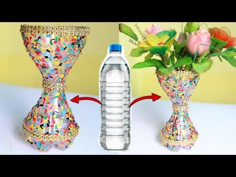 Best Out Of Waste Flower Vace Flower Pot From Best Bottles Plastic