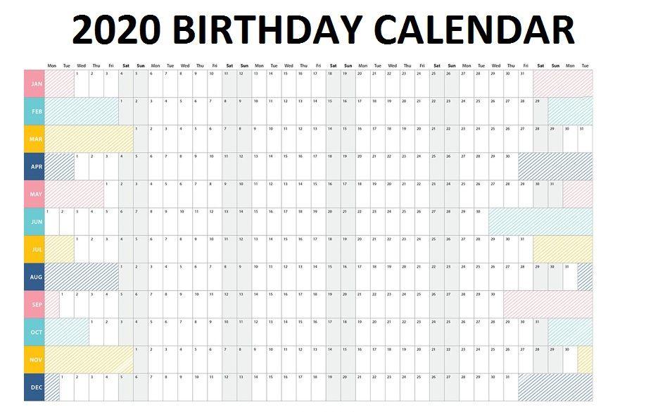 2020 Family Printable Calendar Family Planner Calendar Family