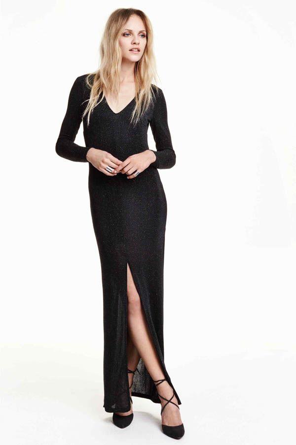 c5f7f361244 Une robe longue et sexy signée H M