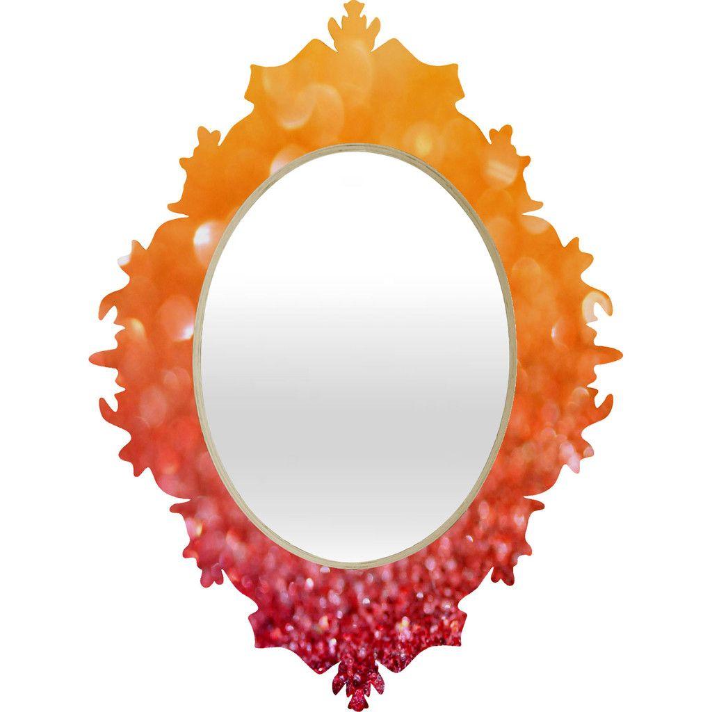 Lisa Argyropoulos Autumn Rising Baroque Mirror | DENY Designs Home Accessories