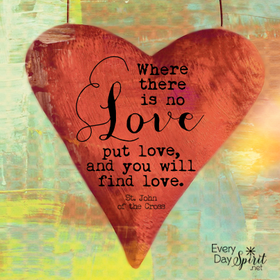 Put love into everything. #love For the app of wallpapers ~ www.everydayspirit.net xo