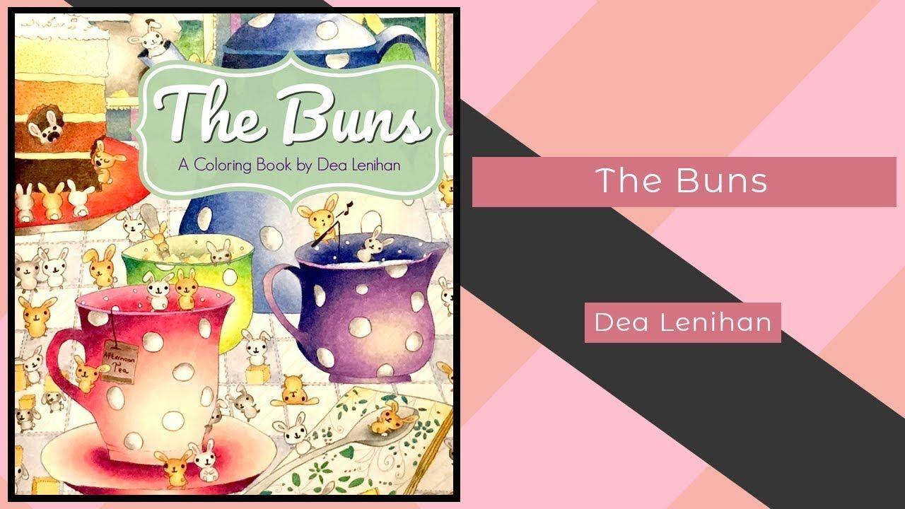 The Buns Dea Lenihan Coloring Book Flip Coloring Books Color Books