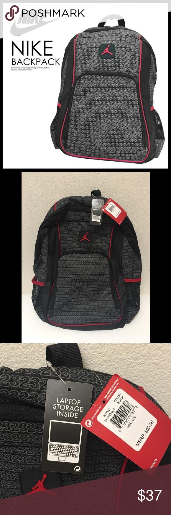 6deb9a1469 Nike Air Jordan Jumpman 23 Monogram Backpack Brand new with tag. Super fun!  Price firm. Nike Bags Backpacks
