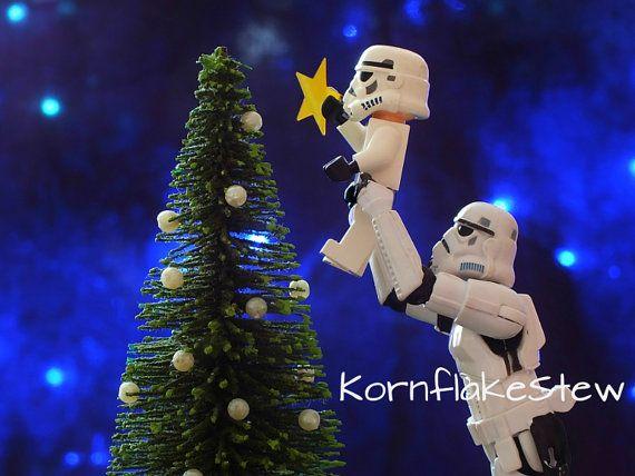 Star Wars Lego Christmas Stormtrooper Photography Digital Download