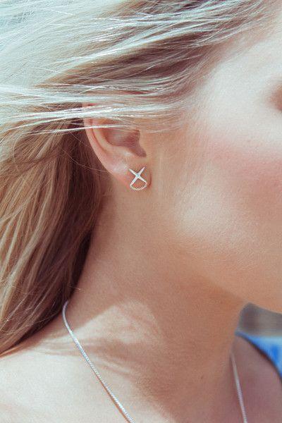 Marching Cross Earrings