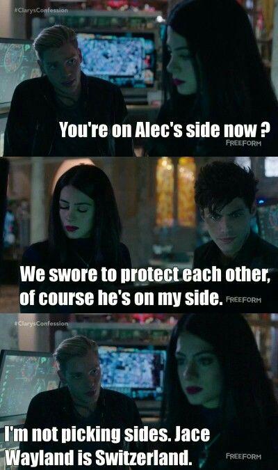 Season 1 Episode 9: Jace, Izzy, Alec | The Mortal Instruments
