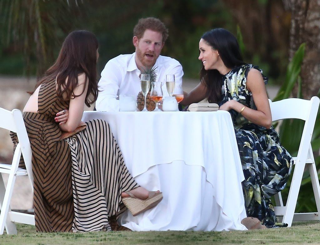 Mar 4, 2017 Prince Harry and Meghan Markle at friend\'s wedding in ...