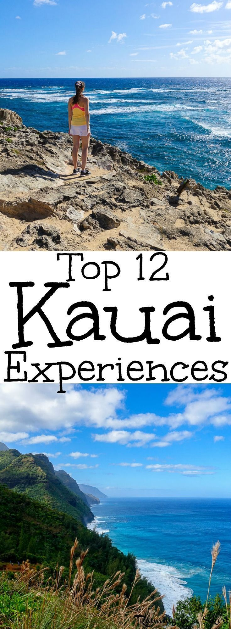 Top 12 Kauai Experiences - The BEST Things to Do in Kauai, Hawaii. From hiking, waterfalls, can't miss activities, food, restaurants, the best Luau, farmers markets, beaches, helicopter tour and resorts... these are adventures you must do while on the island.  / Running in a Skirt
