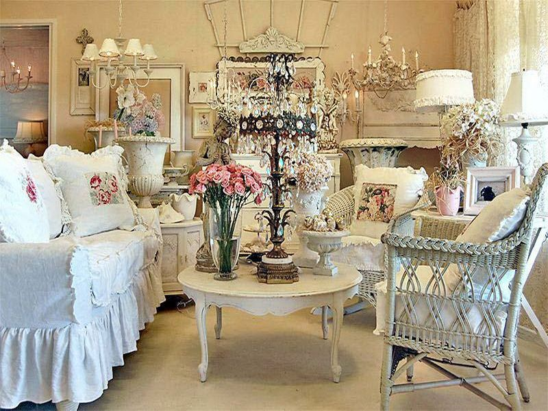 Interior, All Creamed Color Ideas Of French Home Decors: Interior ...