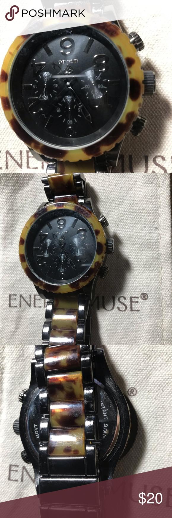 Rockwear animal print watch | Printed watches, Animal print