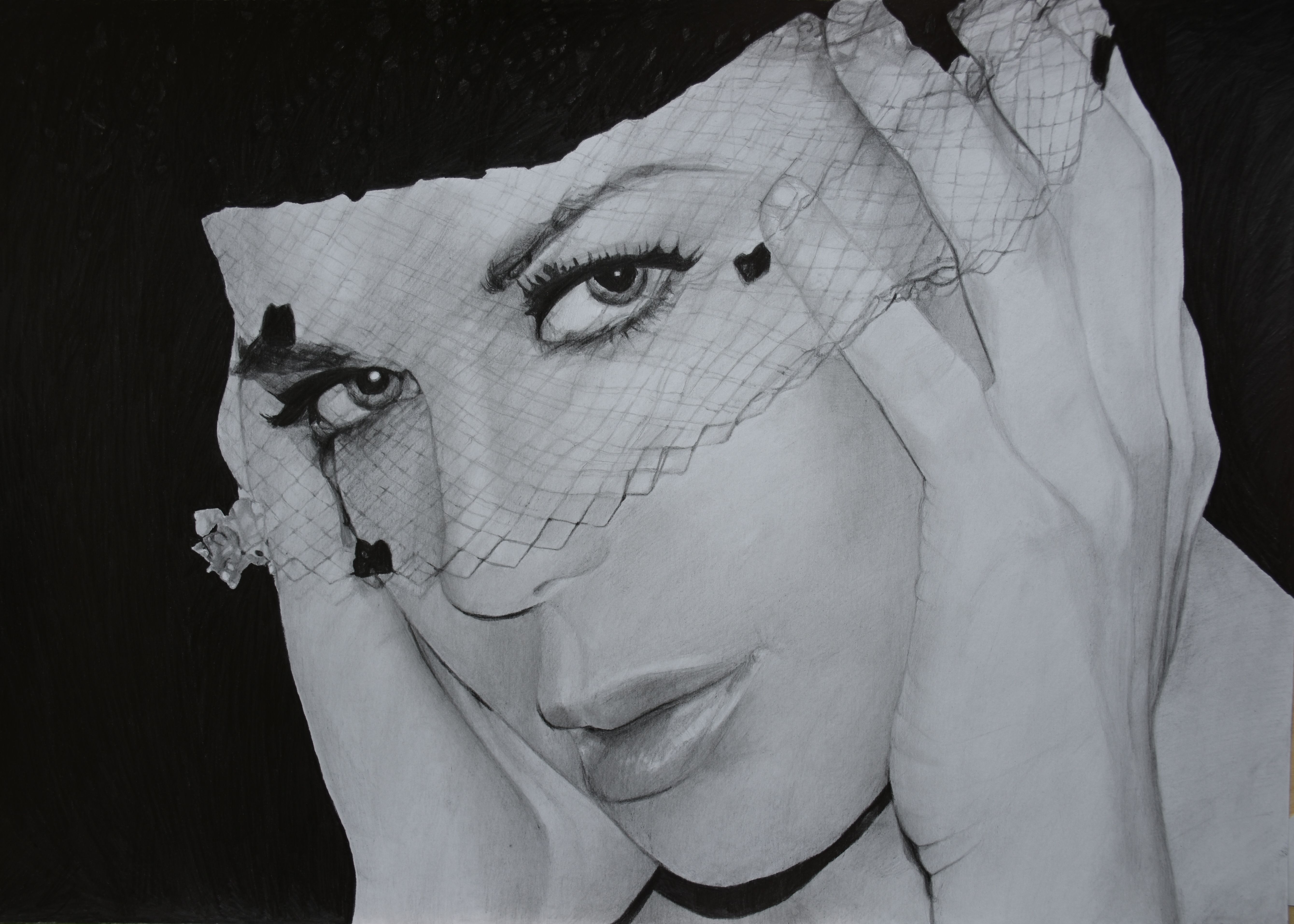 """Name: #JoanMarieLaurer ( #Chyna ) WWF/ WWE NJPW, IGF, TNA Author, Model, Actress & Entertainer, Fitness & Nutrition Enthusiast ...  Features  - Graphite pencils on paper 180g / m² - Signed by the artist Measurements  - 46 x 32 cm / 18.7"""" W x 13.2"""" H Inch  Video on YouTube → https://youtu.be/0Ev4pcqhIvg #Art #Drawing #CreationByKK"""