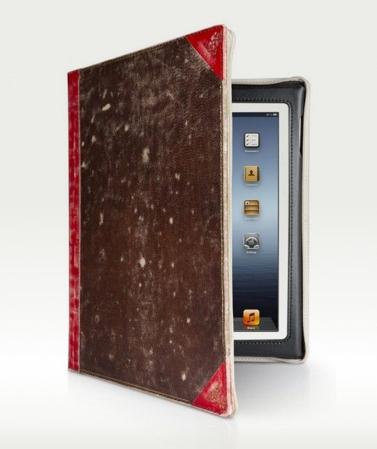 Twelve South BookBook Vintage Leather Case for iPad 4, 3, and 2 / 50 best iPad case covers to buy in 2013