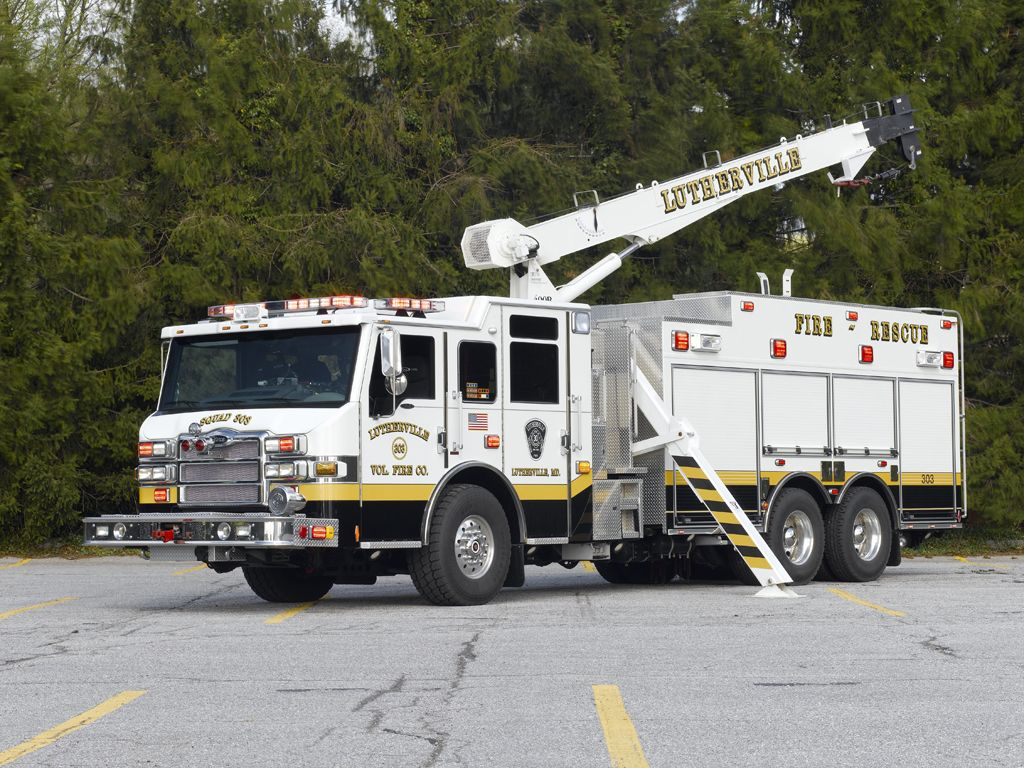 baltimore rescue | Fire Co in Baltimore County MD put this Pierce Velocity heavy rescue ...