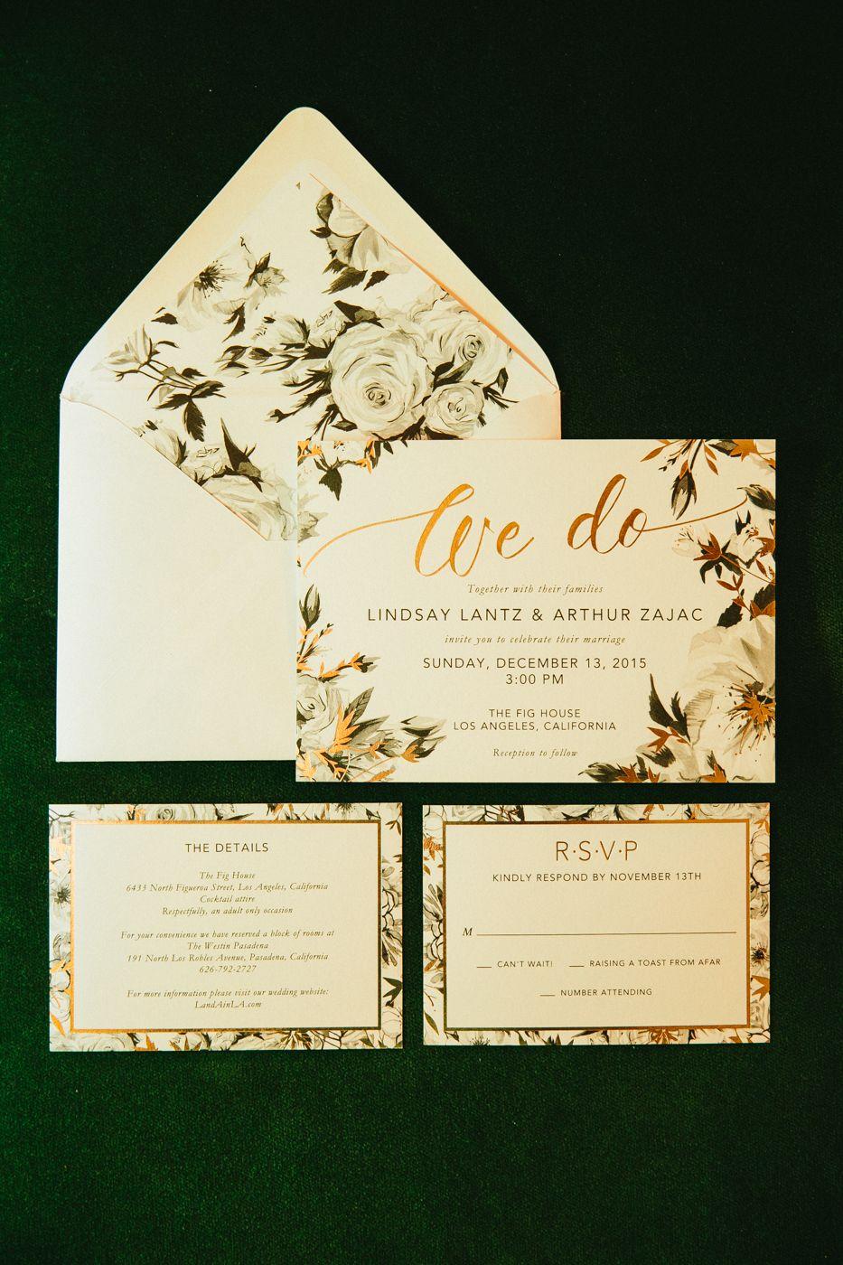 Elegant Wedding Invites You Re Invited Pinterest Wedding