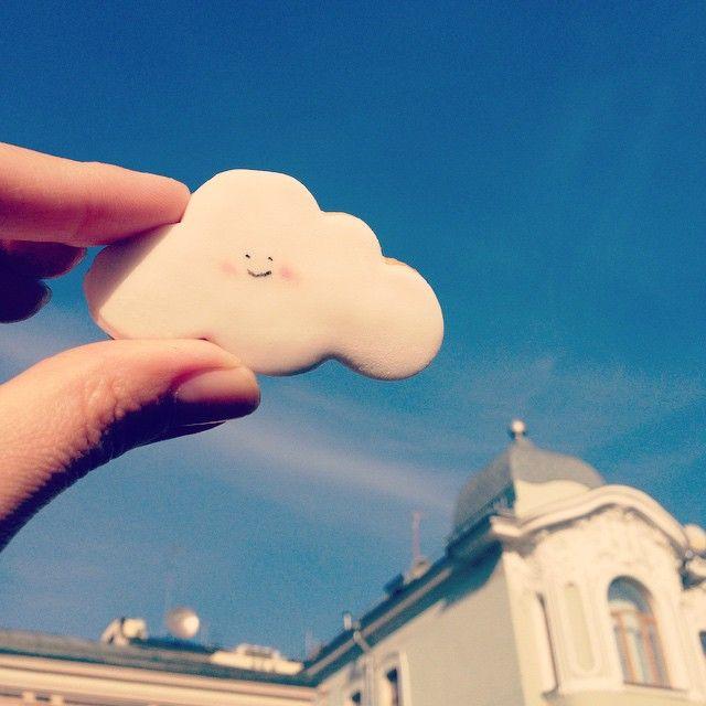 ⛅️☀️#улыбайся #осеньвгороде #московская_осень #осеньлюбви #облака#clouds #sunny#yummy #yummyclouds#воблаках