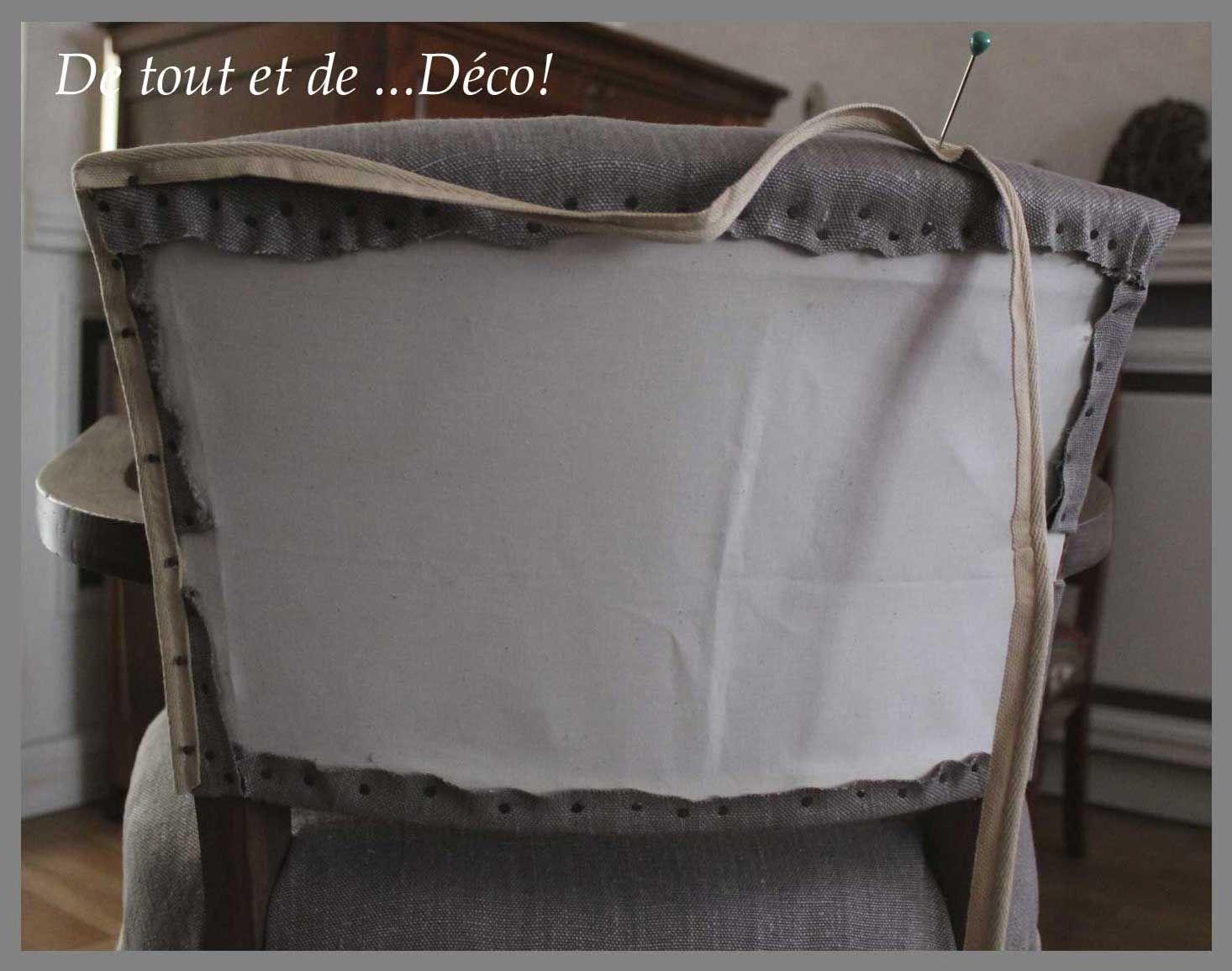 tuto pour fauteuil bridge de tout et de d co fauteuils tapisserie et relooking. Black Bedroom Furniture Sets. Home Design Ideas