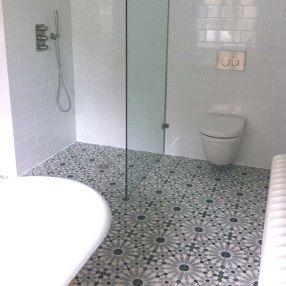 Encaustic Tiles, Moroccan Tiles UK: Customer Reviews. Retro BathroomsTile  ...
