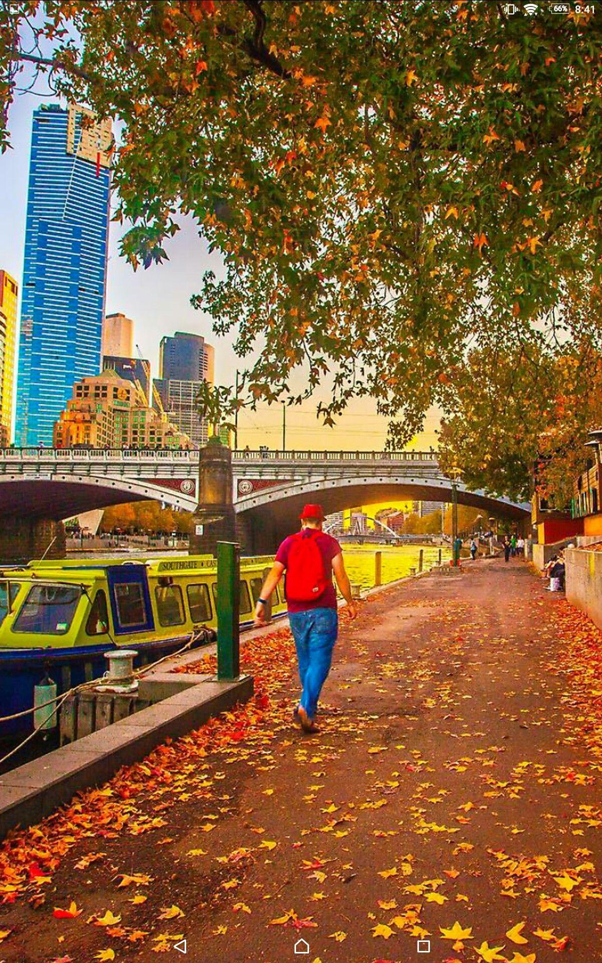Autumn In Melbourne Melbourne Queen Victoria Market Australia