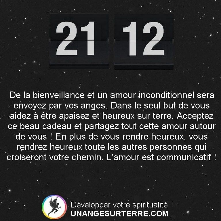 21h12 Heure Miroir