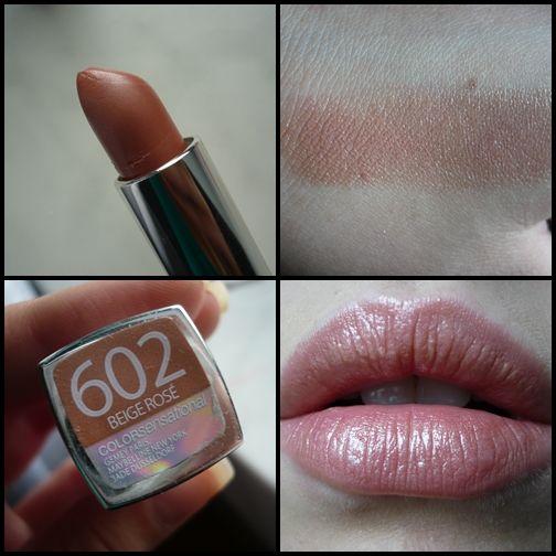 Maybelline Color Sensational Beige Rose Makeup Soft Summer