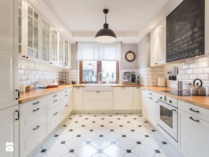 Minimalist Dom nad Wisłą Duża kuchnia styl skandynawski zdjęcie od emDesign home & decoration Simple Elegant - Model Of kitchen decoration image Review