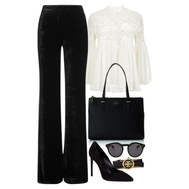 White, Black & Gold