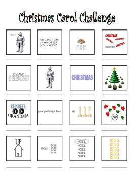 Christmas Carol Brain Teasers.Christmas Brainteaser Warm Up Lakeshore Manor Christmas