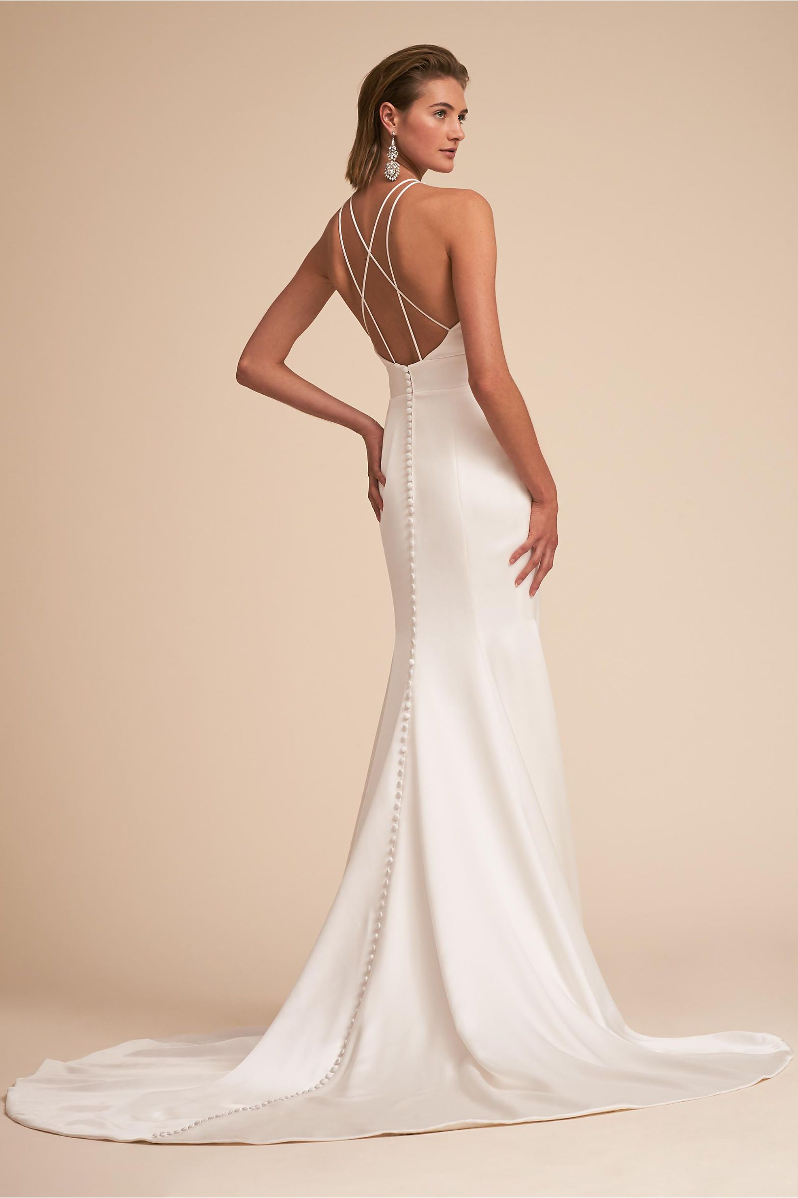 78b97f4812ae BHLDN Loretta Gown Ivory in Bride | BHLDN | Love is all you need. in ...