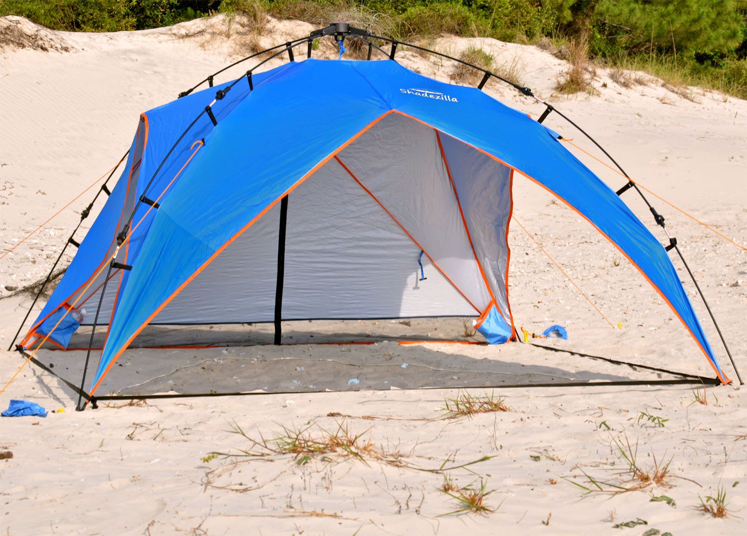 Platinum Plus Beach Shelter UPF 100 - Jumbo Pop Up for 4 persons & Platinum Plus Beach Shelter UPF 100 - Jumbo Pop Up for 4 persons ...