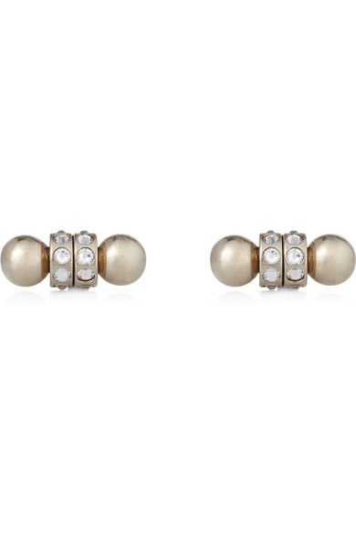 Patched Up: Givenchy Double Pearl earrings / Garance Doré