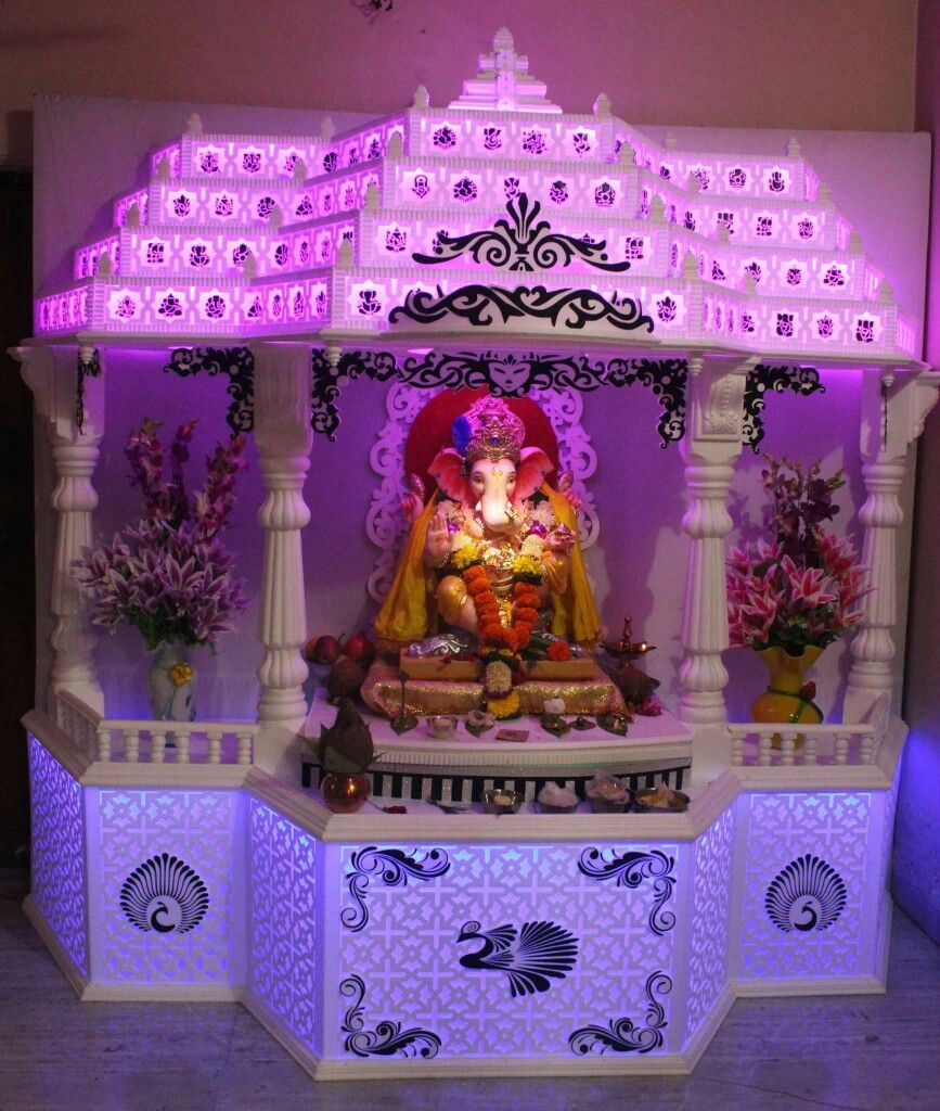 Pin By Sneha Patil-Daxini On Ganpati Decorations