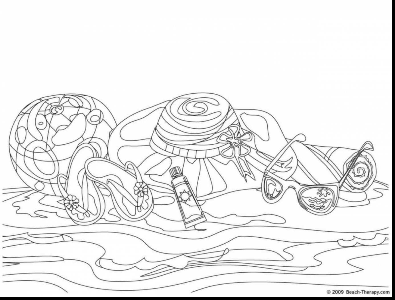 Explore Beach Coloring Pages Palm Trees And More