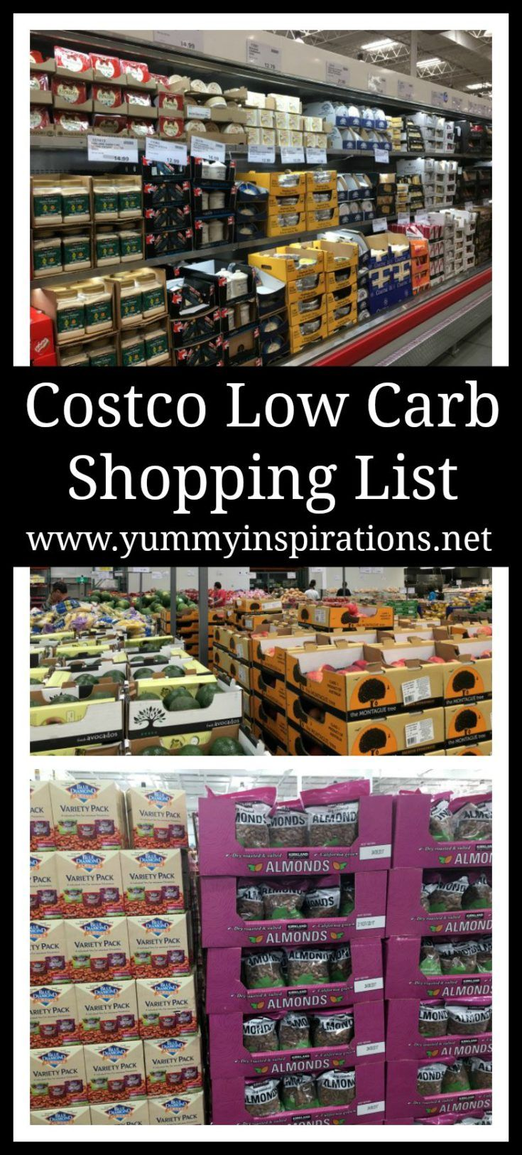 Costco low carb shopping list keto grocery food haul