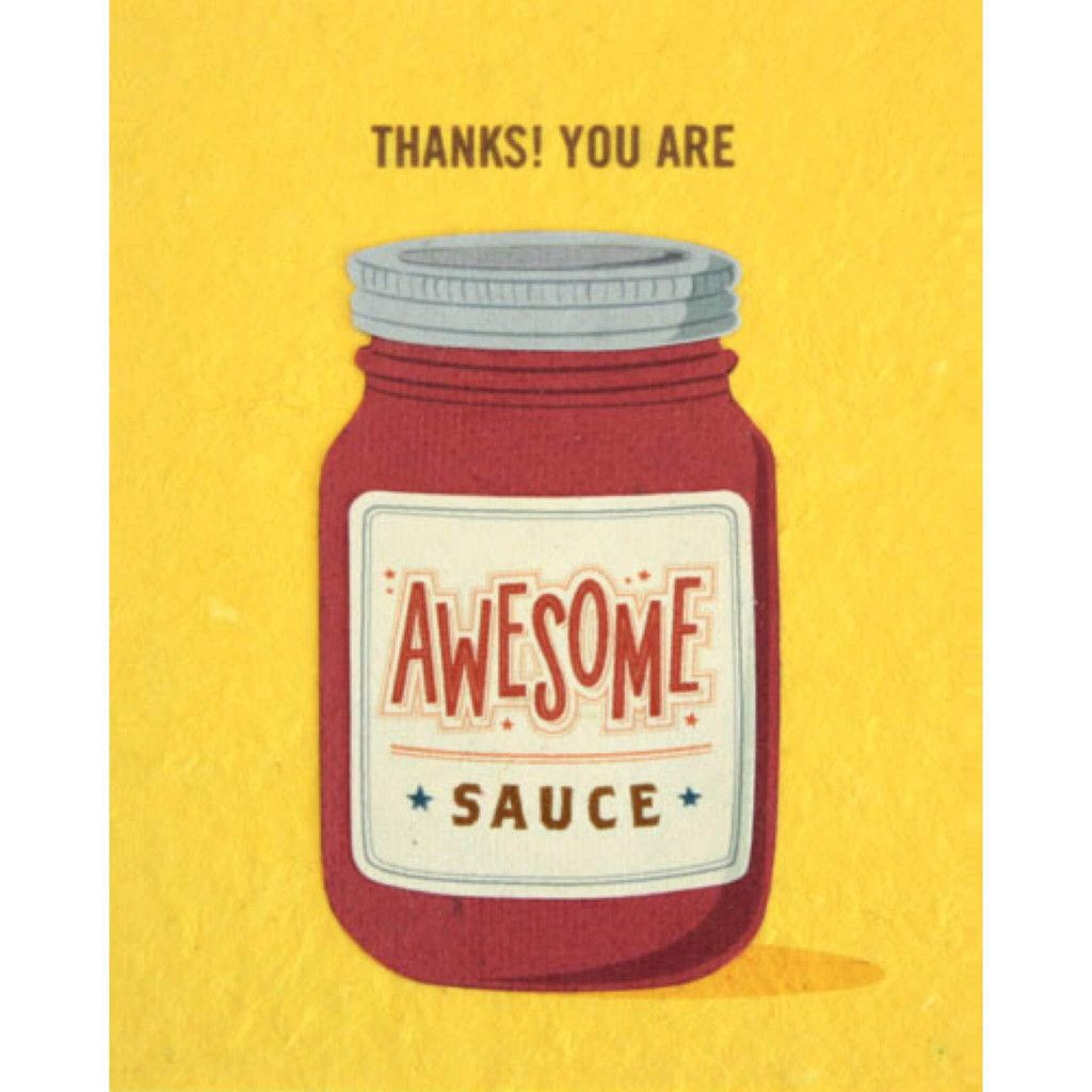 Awesome Sauce Card Humour And Hilarious