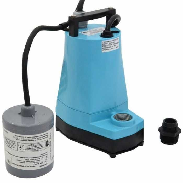 Automatic Submersible Utility Sump Pump W Wide Angle Float Switch 10 Cord 1 6hp 115v Sump Pump Utility Pumps Sump