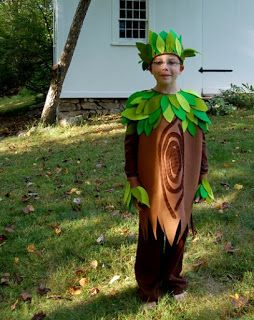 Homemade Tree Costumes For Children Stay Tuned Tree