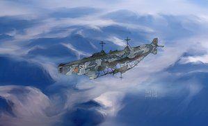 Battleship Ilmatar by Waffle0708