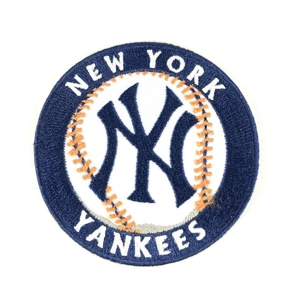 New York Yankees Baseball Iron On Patch Collectors Sports Crafts New Usa Unknown Newyorkyankees New York Yankees Yankees Baseball New York Yankees Baseball