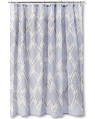 Threshold Nate Berkus Diamond Shower Curtain Target Bathroom Sets
